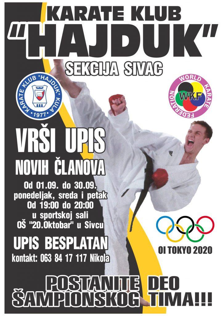 Upis Sivac 2016
