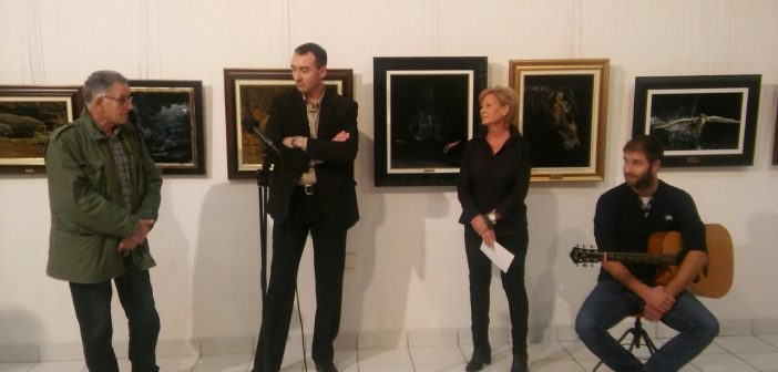Изложба слика Милоша Трбића