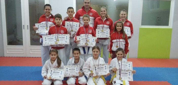 КК Master T&M из Куле освојио 12 медаља на Купу Србије