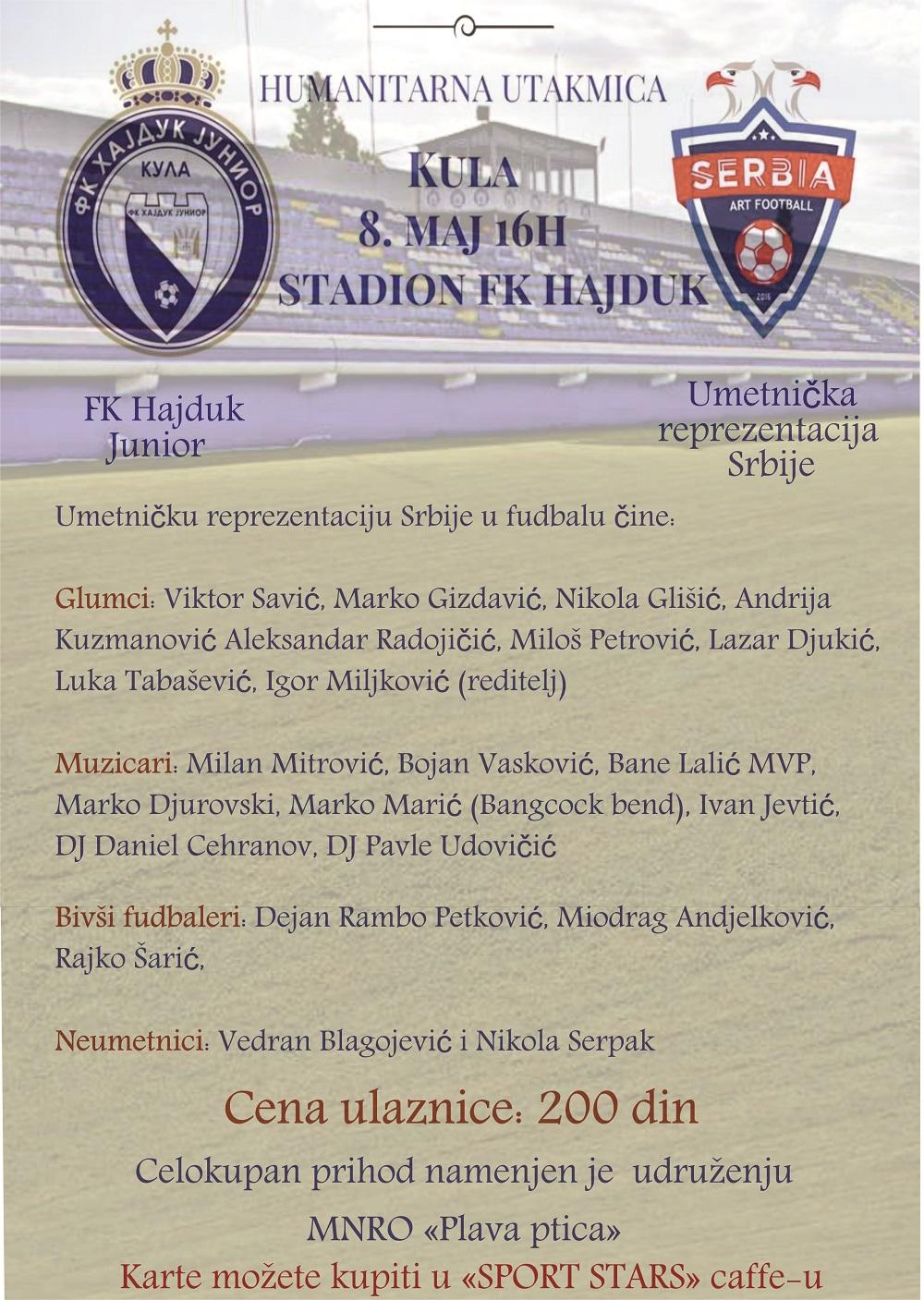 Hajduk - Umetnici plakat