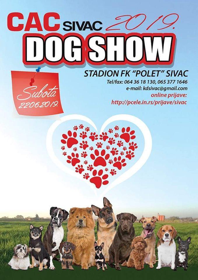 Plakat izložbe u Sivcu