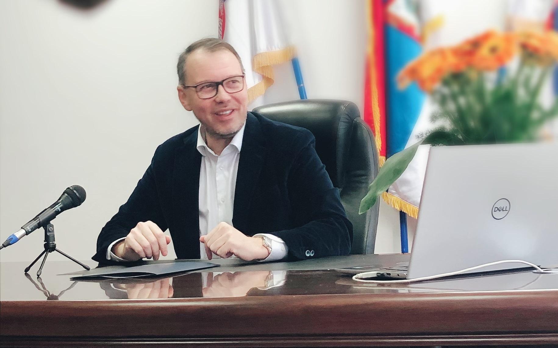 Predsednik opštine Kula Damjan Miljanić